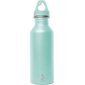 MIZU M5 juomapullo with Spearmint Loop Cap 500ml , turkoosi